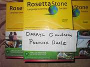 Rosetta Stone Latin American Edition Levels 1, 2, 3 Lot of 6 MRSP $4200